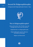 Journal für Religionsphilosophie Nr. 3 (2014)